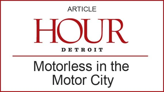 Motorless in the Motor City